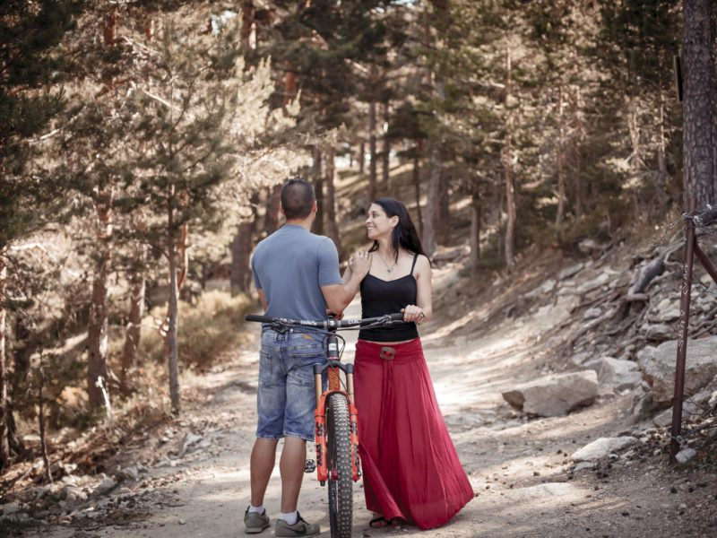 Preboda en Navacerrada, Esther & Carlos