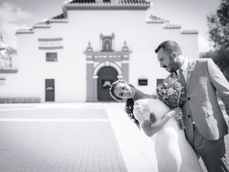Boda en Nuestra Señora de las Nieves, Dílar (Granada), Lidia & Jose